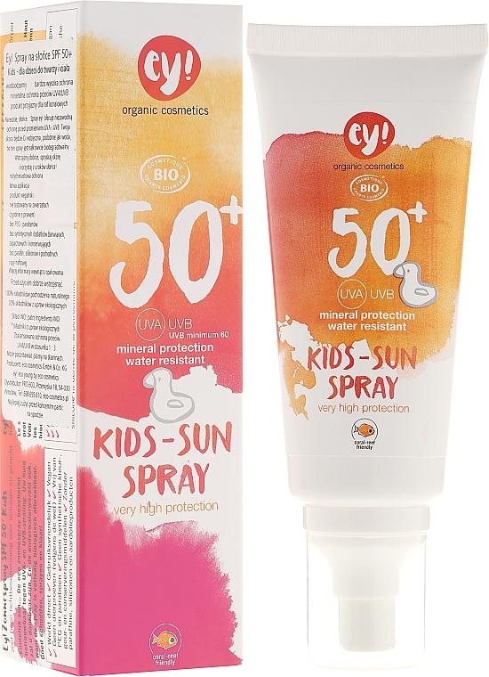 Sonnenschutzspray für Kinder SPF 50+ - Eco Cosmetics Esent
