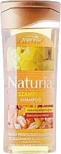 Düfte, Parfümerie und Kosmetik Anti-Schuppen Shampoo für fettiges Haar mit Bio-Schwefel und Bernstein - Joanna Naturia Shampoo Biosandar And Amber