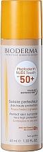 Düfte, Parfümerie und Kosmetik Mineralische Sonnenschutzcreme mit Matt-Effekt, hell getönt - Bioderma Photoderm Nude Touch SPF 50+ Teinte Claire