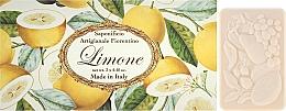 Düfte, Parfümerie und Kosmetik Naturseifen Geschenkset 3 St. - Saponificio Artigianale Fiorentino Lemon (3x125g)