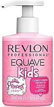 Düfte, Parfümerie und Kosmetik Shampoo und Haarspülung für Kinder - Revlon Professional Equave Kids Princess Conditioning Shampoo