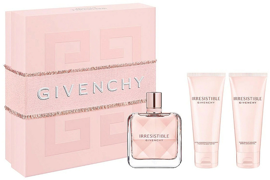 Givenchy Irresistible Givenchy - Duftset (Eau de Parfum 80ml + Körperlotion 75ml + Duschgel 75ml)