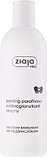 Düfte, Parfümerie und Kosmetik Paraffin-Handpeeling mit Mikrogranulaten - Ziaja Pro Paraffin Scrub