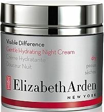 Düfte, Parfümerie und Kosmetik Feuchtigkeitsspendende Nachtcreme - Elizabeth Arden Visible Difference Gentle Hydrating Night Cream