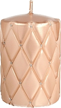 Düfte, Parfümerie und Kosmetik Dekorative Kerze Florence Rosegold - Artman Florence Candle Ø7xH10cm