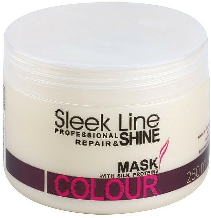 Regenerierende Maske für gefärbtes Haar - Stapiz Sleek Line Colour Mask