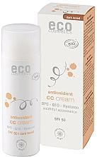 Düfte, Parfümerie und Kosmetik Antioxidative CC Gesichtscreme mit Hyaluronsäure und Coenzym Q10 SPF 50 - Eco Cosmetics Tinted CC Cream SPF 50