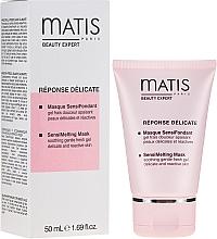 Düfte, Parfümerie und Kosmetik Erfrischende Gelmaske für das Gesicht - Matis Reponse Delicate Sensimelting Mask