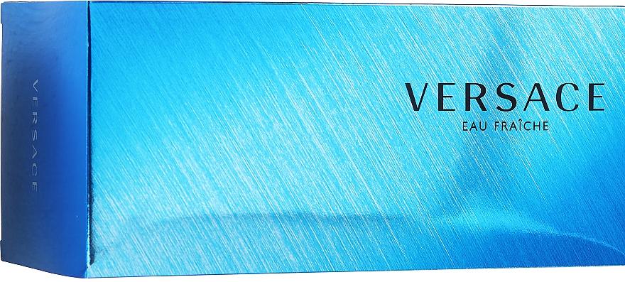 Versace Man Eau Fraiche - Duftset (Eau de Toilette 100ml + Duschgel 100ml + Kosmetiktasche)