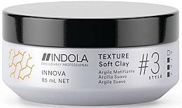 Düfte, Parfümerie und Kosmetik Texturierendes Haarwachs - Indola Innova Texture Soft Clay