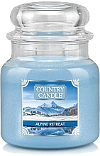 Düfte, Parfümerie und Kosmetik Duftkerze im Glas Alpine Retreat - Country Candle Alpine Retreat