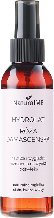 Damaszener Rosenwasser - NaturalME