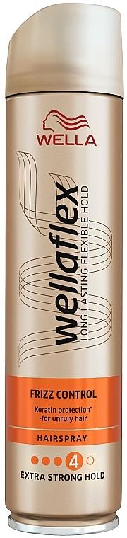 Zuverlässige Frizz-Kontrolle für widerspenstiges Haar Extra starker Halt - Wella Pro Wellaflex Frizz Control — Bild N1