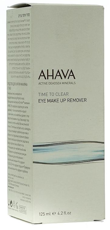 2-Phasiger Augen-Make-up Entferner - Ahava Time To Clear Eye Make Up Remove