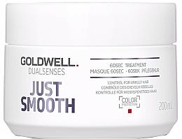 Düfte, Parfümerie und Kosmetik Intensivpflege für widerspenstiges Haar - Goldwell Dualsenses Just Smooth 60sec Treatment