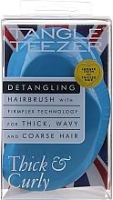 Düfte, Parfümerie und Kosmetik Haarbürste für dickes und lockiges Haar - Tangle Teezer Thick & Curly Azure Blue