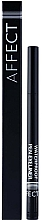 Düfte, Parfümerie und Kosmetik Wasserfester Eyeliner - Affect Cosmetics Waterproof Pen Eyeliner