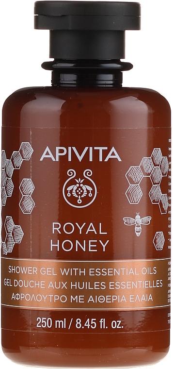 Duschgel mit Honig und ätherischen Ölen - Apivita Shower Gel Royal Honey