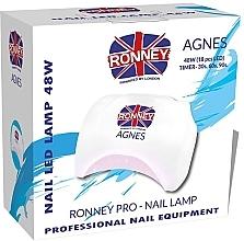 Düfte, Parfümerie und Kosmetik LED-Lampe für Nageldesign Agnes weiß - Ronney Profesional Agnes Pro LED 48W (GY-LED-032)