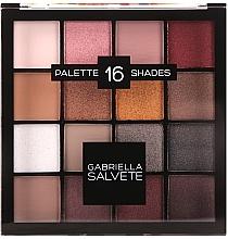 Düfte, Parfümerie und Kosmetik Lidschatten-Palette - Gabriella Salvete Palette 16 Shades II