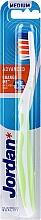 Düfte, Parfümerie und Kosmetik Zahnbürste mittel Advanced weiß-grün - Jordan Advanced Medium