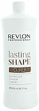 Düfte, Parfümerie und Kosmetik Neutralizing Lotion zur Locken Fixierung - Revlon Professional Lasting Shape Curly Lotion Neutralizer