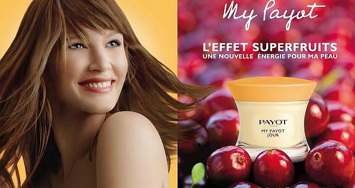 Erfrischende und vitalisierende Tagescreme mit Goji- und Acai-Beeren, Bifidobakterien und Vitamin B5 - Payot My Payot Jour — Bild N4