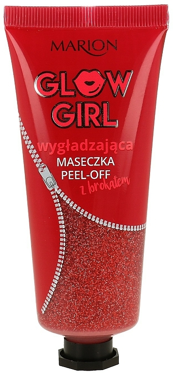 Glättende Peel-Off-Maske mit Glitzer - Marion Glow Girl Peel-Off Smoothing Mask