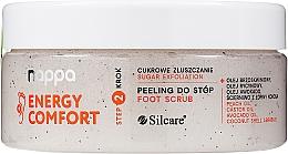 Düfte, Parfümerie und Kosmetik Zuckerpeeling für die Füße - Silcare Nappa Natural Sugar Foot Scrub