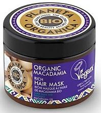 Düfte, Parfümerie und Kosmetik Haarmaske mit Macadamia - Planeta Organica Organic Macadamia Rich Hair Mask