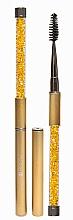 Düfte, Parfümerie und Kosmetik Wimpern- und Augenbrauenbürste gold - Lash Brow Gold