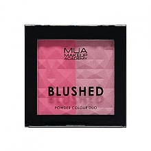 Düfte, Parfümerie und Kosmetik Duo-Gesichtsrouge - MUA Blushed Powder Colour Duo