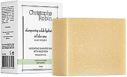 Düfte, Parfümerie und Kosmetik Festes Shampoo mit Aloe Vera - Christophe Robin Hydrating Shampoo Bar with Aloe Vera
