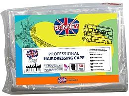 Düfte, Parfümerie und Kosmetik Professionelle Einweg-Friseurumhänge - Ronney Professional Hairdressing Cape