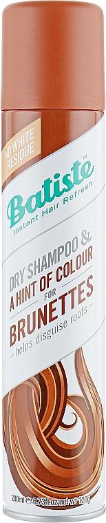 Trockenes Shampoo - Batiste Dry Shampoo Medium and Brunette a Hint of Colour