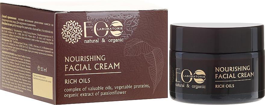 Pflegende Gesichtscreme mit wertvollen Ölen und Passionsblumenextrakt - ECO Laboratorie Face Cream