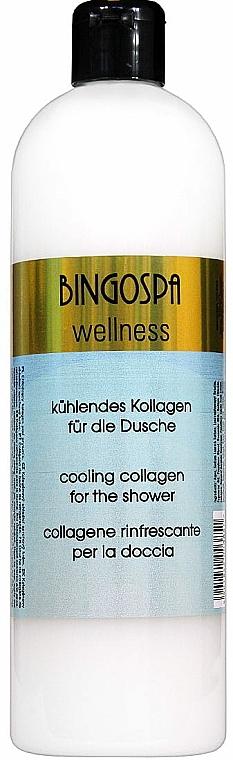 Kühlende Duschcreme mit Kollagen - BingoSpa Collagen
