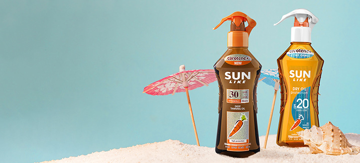 Rabatt auf Aktionsprodukte Sun Like. Die Preise auf der Website sind inklusive Rabatt