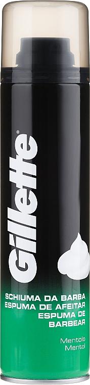 Menthol-Rasierschaum - Gillette Menthol Shave Foam for Men
