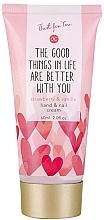 Düfte, Parfümerie und Kosmetik Hand- und Nagelcreme mit Erdbeere und Vanille - Accentra Just for You Strawberry & Vanilla Hand & Nail Cream