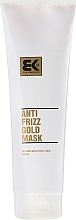 Düfte, Parfümerie und Kosmetik Regenerierende Anti-Frizz Haarmaskemaske mit Keratin - Brazil Keratin Anti Frizz Gold Mask
