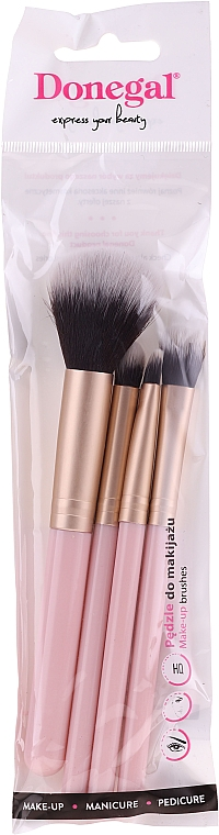 Make-up Pinselset 4 St. rosa - Donegal
