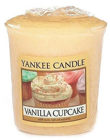 Votivkerze Vanilla Cupcake - Yankee Candle Vanilla Cupcake Sampler Votive