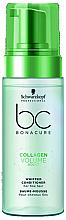 Düfte, Parfümerie und Kosmetik Haarspülung-Mousse für feines Haar - Schwarzkopf Professional Bonacure Collagen Volume Boost Whipped Conditioner