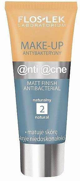 Antibakterielle mattierende Foundation - Floslek Anti Acne Make Up