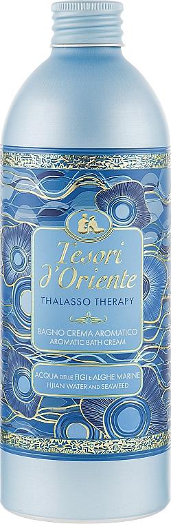 Aromatische Badecreme mit fidschianischem Wasser und Seetang - Tesori d`Oriente Thalasso Therapy Aromatic Bath Cream