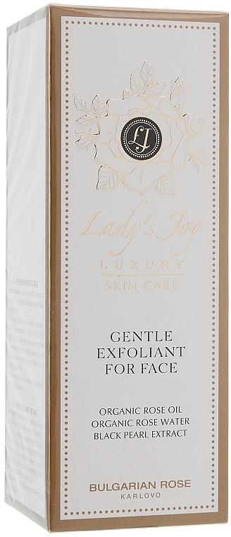 Sanftes Gesichtspeeling - Bulgarian Rose Lady's Joy Luxury Gentle Exfoliant For Face