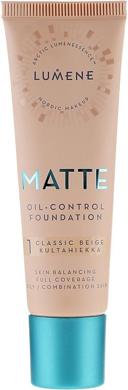 Mattierende Foundation - Lumene Matte Oil-control Foundation