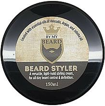 Düfte, Parfümerie und Kosmetik Pflegendes Bartstyling mit Avocado-, Argan- und Jojobaöl - By My Beard Beard Styler Light Hold Styling Cream