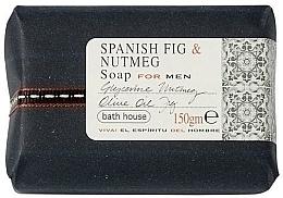 Düfte, Parfümerie und Kosmetik Bath House Spanish Fig and Nutmeg - Parfümierte Seife Fig & Nutmeg